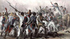 Forças Haitianas derrotam exército Francês
